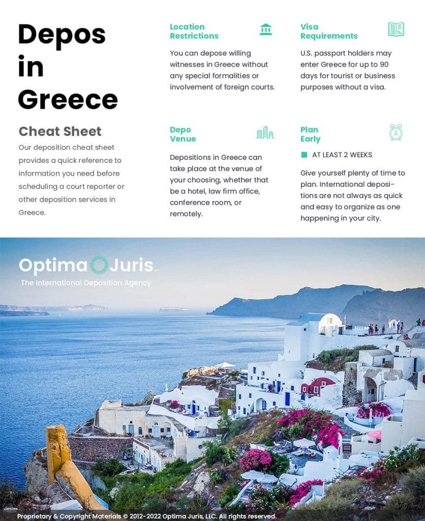 court reporters in greece