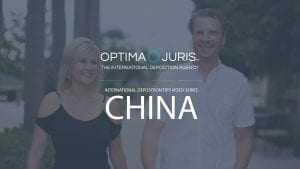 International Depositions Tips: Depos in China