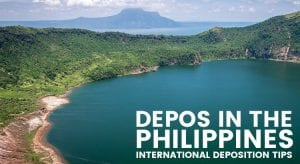 Taking Depositions in the Philippines. Photo Credit: https://www.flickr.com/photos/kailehmann/
