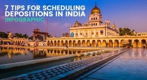 Infographic: 7 Tips for Scheduling Depositions in India