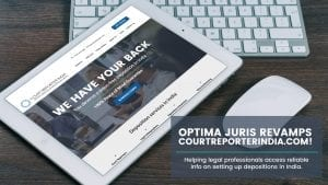 Optima Juris Revamps CourtReporterIndia.com