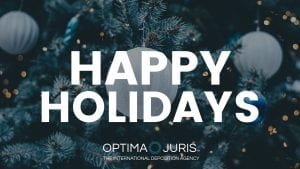 Happy Holidays from everyone at Optima Juris