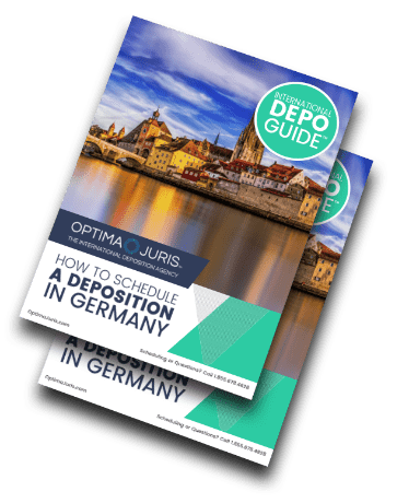 Deposition Guide Scheduling Court Reporters Germany