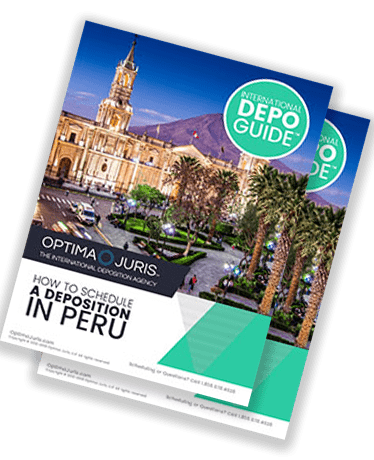Peru court reporters for US deposition