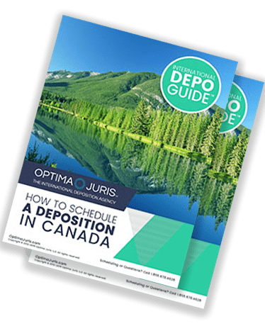 Court Reporters in Canada for US deposition